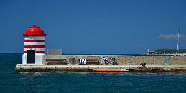 Chorvatsko, Zadar, moře, dovolená