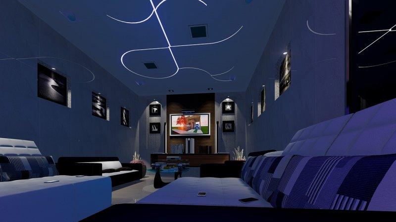 televize, filmy, bydlení, hry
