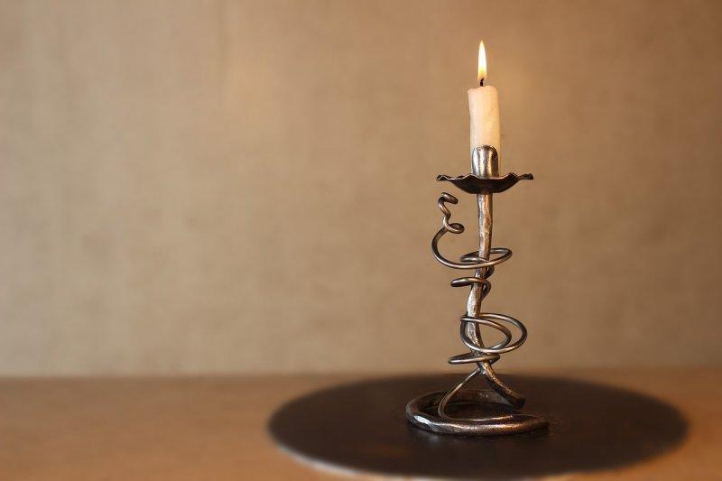 svícen, svíčka, starožitnost, design