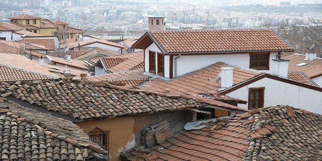 revize střechy, bydlení, dům