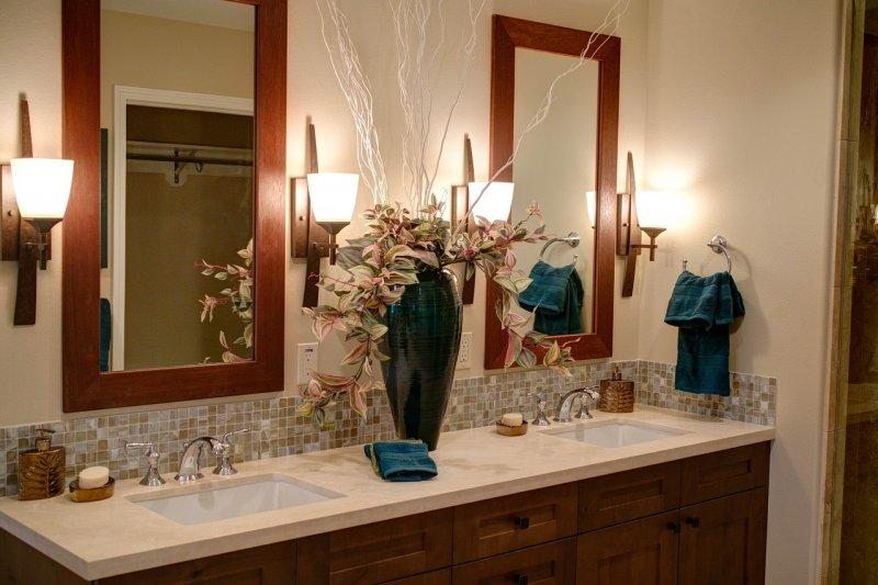 koupelna, umyvadlo, zařizování koupelny, bydlení, domácnost