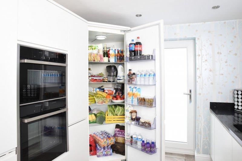 chladnička, potraviny, zdraví, kuchyně, skladování potravin