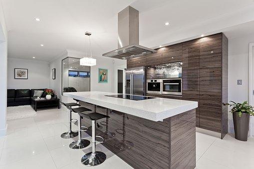 kuchyně, uklid, domácnost, bydlení