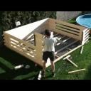 Stavba altánu - video