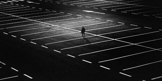 parkování, auto, auta, robot