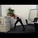 Cvičení na posílení zádového svalstva - video