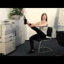 Cvičení pro kyčelní klouby - video