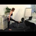 Jak efektivně cvičit v kanceláři - video