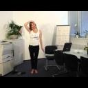 Za cvičit si můžeme i v kanceláři - video