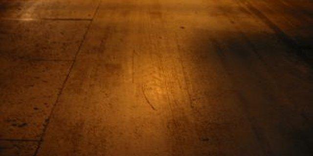 Podlaha vkuchyni - 1.část
