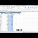 V Excelu 2010 můžete rychle kopírovat data do celého sloupce - video