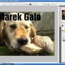 Vytvořte si ve PhotoShopu průhledný text - video
