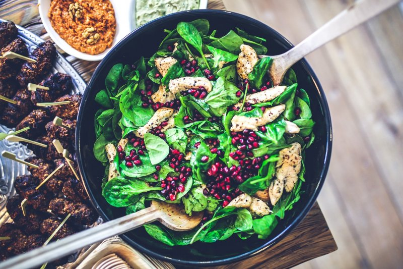 špenát, listová zelenina, těhotenství, antioxidanty, vitaminy