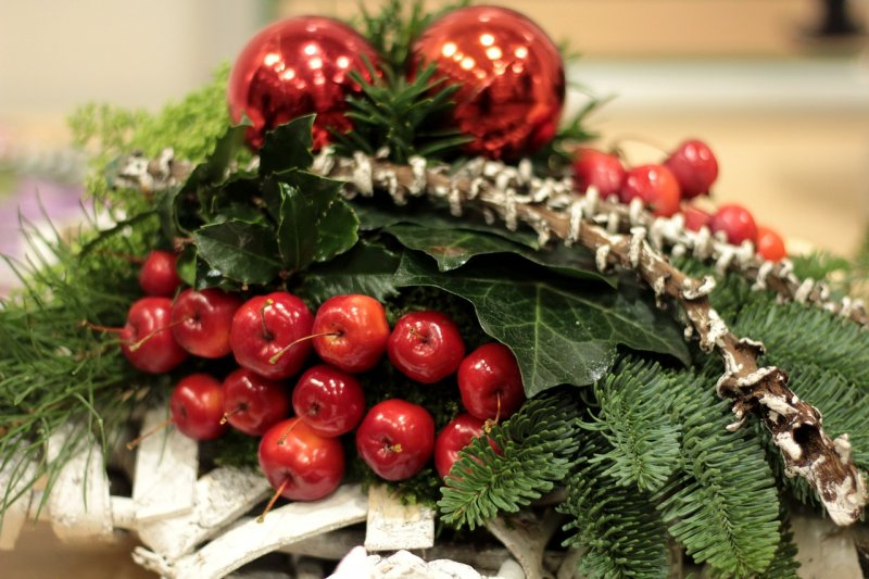 jablka, Vánoce, zdraví, ovoce, vitamíny