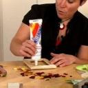 Udělejte si dekoraci z mozaiky - krok dvě - video