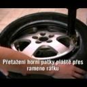 Jak vypadá demontáž, montáž a vyvážení pneumatiky - video