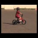 Budeme učit dítě jezdit na kole - video
