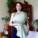 Jak uvázat šátek do dvojitého kříže - tvorba kolébky s kapsou uvnitř - video