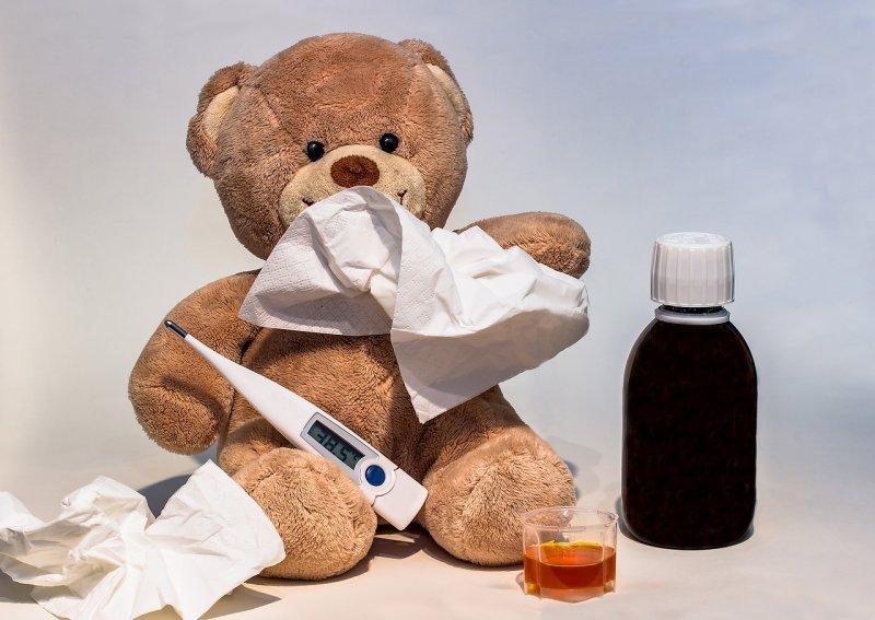 nemoc, dítě, rodiče, zdraví, mateřská škola