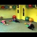 Posilováni nohou - cvičení pro těhotné - video