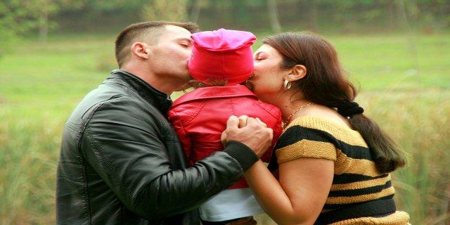 děti, rodina, štěstí, matka, otec, výchova dětí