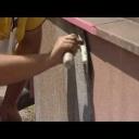 Ošetření přízemní části fasády - video
