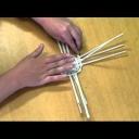 Naučte se pletení z papíru - pletení koše - video