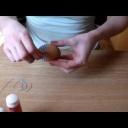 Výroba velikonoční dekorace - vajíčka omotaná provázkem - video