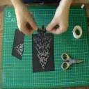 Jak si ručně vyrobit vánoční přání - video