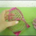 Jak si vyrobit kirigami vánoční ozdobu z papíru - zvonek - video