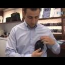 Složte si kapesník do kapsy saka - video