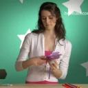 Jak vyrobit papírovou květinu z hedvábného papíru - video