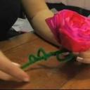Jak vyrobit Valentýnskou růži - video