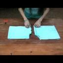 Šortky vyrobené ze starého ručníku  - video