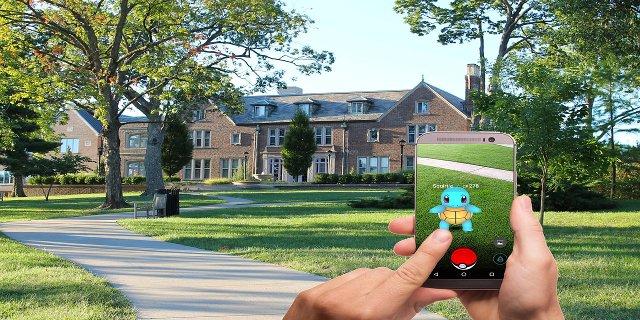 Pokémon GO, mobilní hry, děti, aktivity