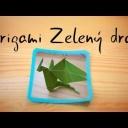 Složte dětem z papíru malého dráčka - video