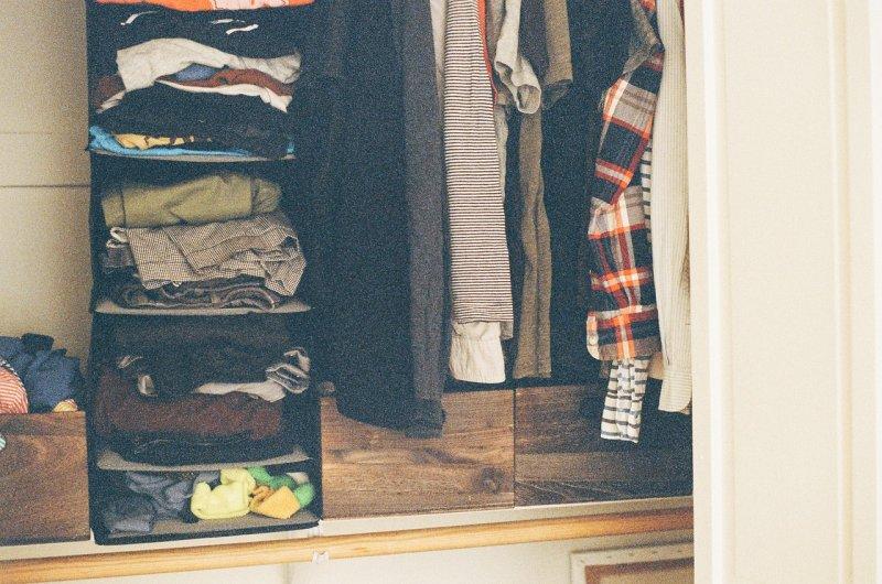 oblečení, skříň, bydlení, obuv