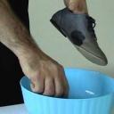 Poradíme vám jak vyčistit hodně špinavé boty z nubuku - video