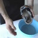 Naučíme vás jak vyčistit sandály - video