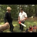 Benzinové pily - video