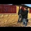 Plot ze štípaného betonu - video