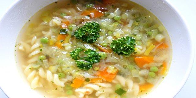zelenina, polévka, zdraví
