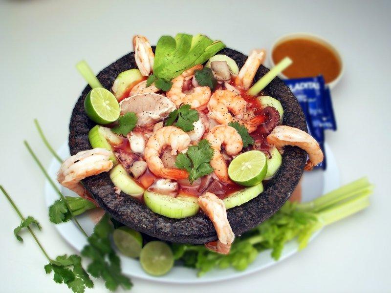 moře, mořské plody, krevety, zdraví, zdravá výživa, minerály, vitamin D, selen