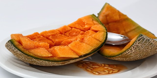 meloun, ovocná polévka, této, zdraví, zdravá strava, vitaminy